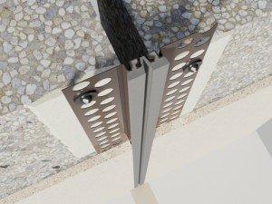 Profile dilatatie perete si tavane