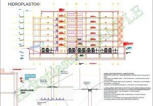 Hidroplasto. Model.adaptare .proiect  Adaptari proiect, detalii cad, detalii tehnice - pentru proiectanti si arhitecti Hidroplasto